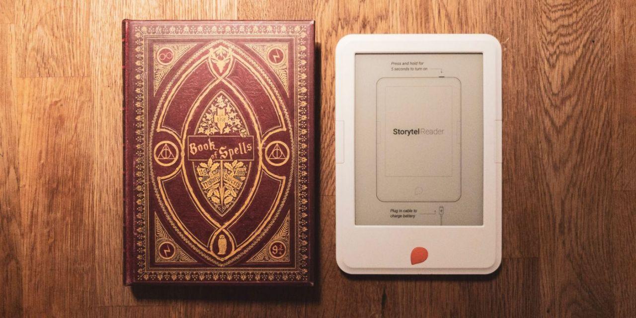 Bra fodral till Storytel Reader